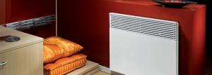 Heating country house electric heaters
