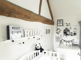 Scandinavian style will transform your look at children's room !?