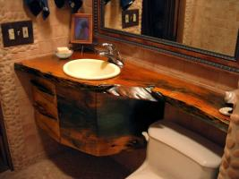 What can replace the usual furniture for the bathroom. 5 alternative solutions