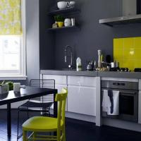 6 cool and elegant color combinations of kitchen furniture, wall and floor for your kitchen.