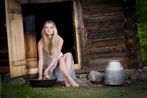 What is the smoke sauna? I'll tell you how to prepare such a bath on February 23!