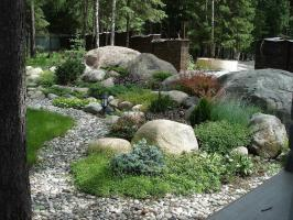 We do rockeries: schemes and grades for stone flower bed