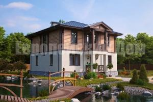 Excellent project two-storey house with 4 bedrooms