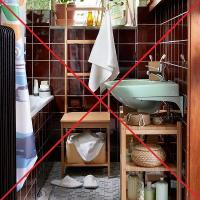 6 mistakes that should be avoided in the repair and regeneration of your small bathroom.