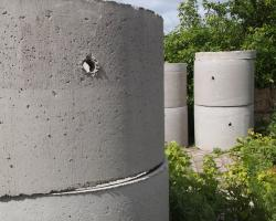 Cellar of concrete rings: assembly technology with their own hands