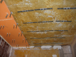 How to insulate ceilings in the apartment Penoplex