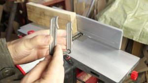 Jointer and marking gauge in one machine. The right machine for the home workshop.