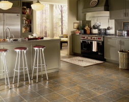 Which is suitable for the kitchen linoleum