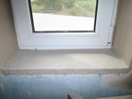 Plasterer slope so as not to muzzle. There is an important caveat
