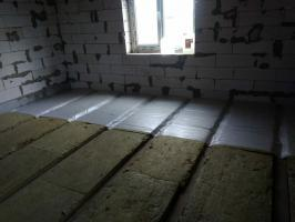 The best way to interstorey insulating floors without the involvement of hired professionals