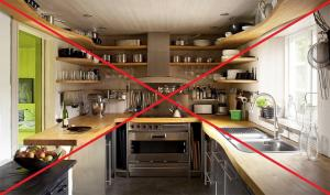 5 most common mistakes when furnishing a small kitchen.
